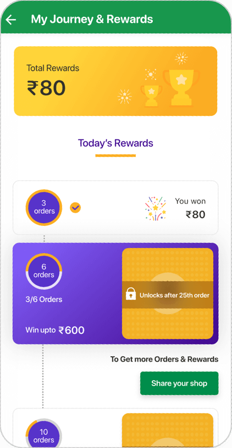 Max Rewards for Max Whatsapp orders